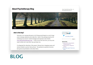 About Psychotherapy Blog